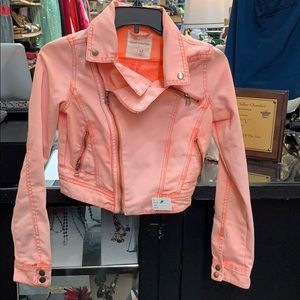 Size XS short cut denim jacket